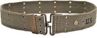 World War Supply WW2 U.S. M1936 Pistol Belt Dark OD marked JT&L 1944 will fit 25