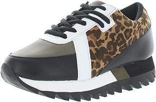 Geri Mixed Media Fashion Sneaker
