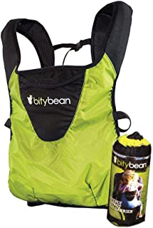 Bitybean Ultracompact Baby Carrier (Lime Green)