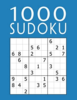1000 SUDOKU: Colección XXL | fácil - medio - difícil - experto | 9x9 Clásico Puzzle | Juego De Lógica Para Adultos