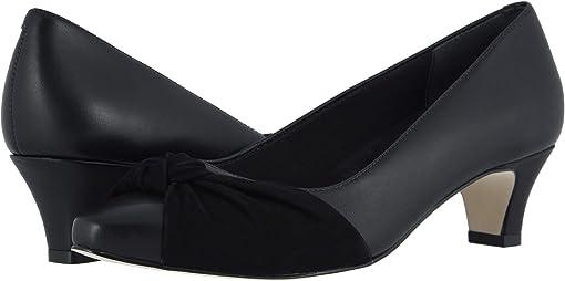 Black Leather/Black Nubuck