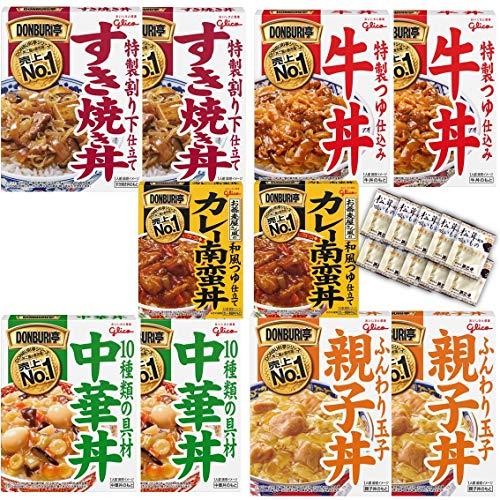 DONBURI亭 どんぶり アソート レトルト 食べ比べ 10食 セット 各2個 お吸い物付き