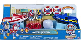 Paw Patrol Adventure Beach Chase and Marshalls Rescue Jet Skis