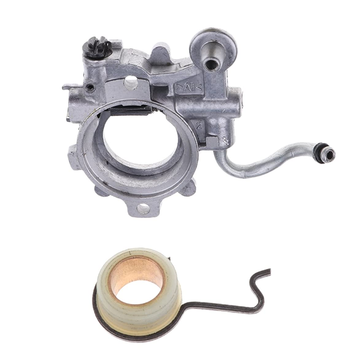 MonkeyJack 3pcs Oiler Oil Pump WT Worm Gear Spring for STIHL 044 MS440 Chainsaw Replacement