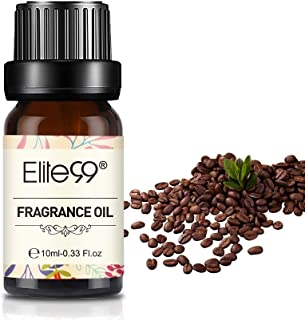 Elite99 Aceites de Fragancia Aceites Esenciales para Humidificadores Aceites de Aromaterapia de café 10ML