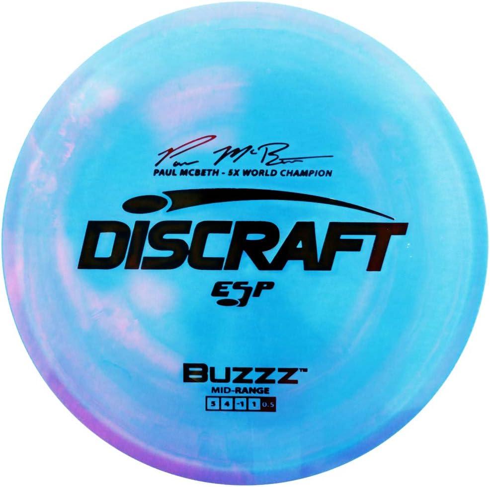 Discraft Paul McBeth Signature ESP Golf Midrange Col Buzzz Max Cash special price 78% OFF Disc