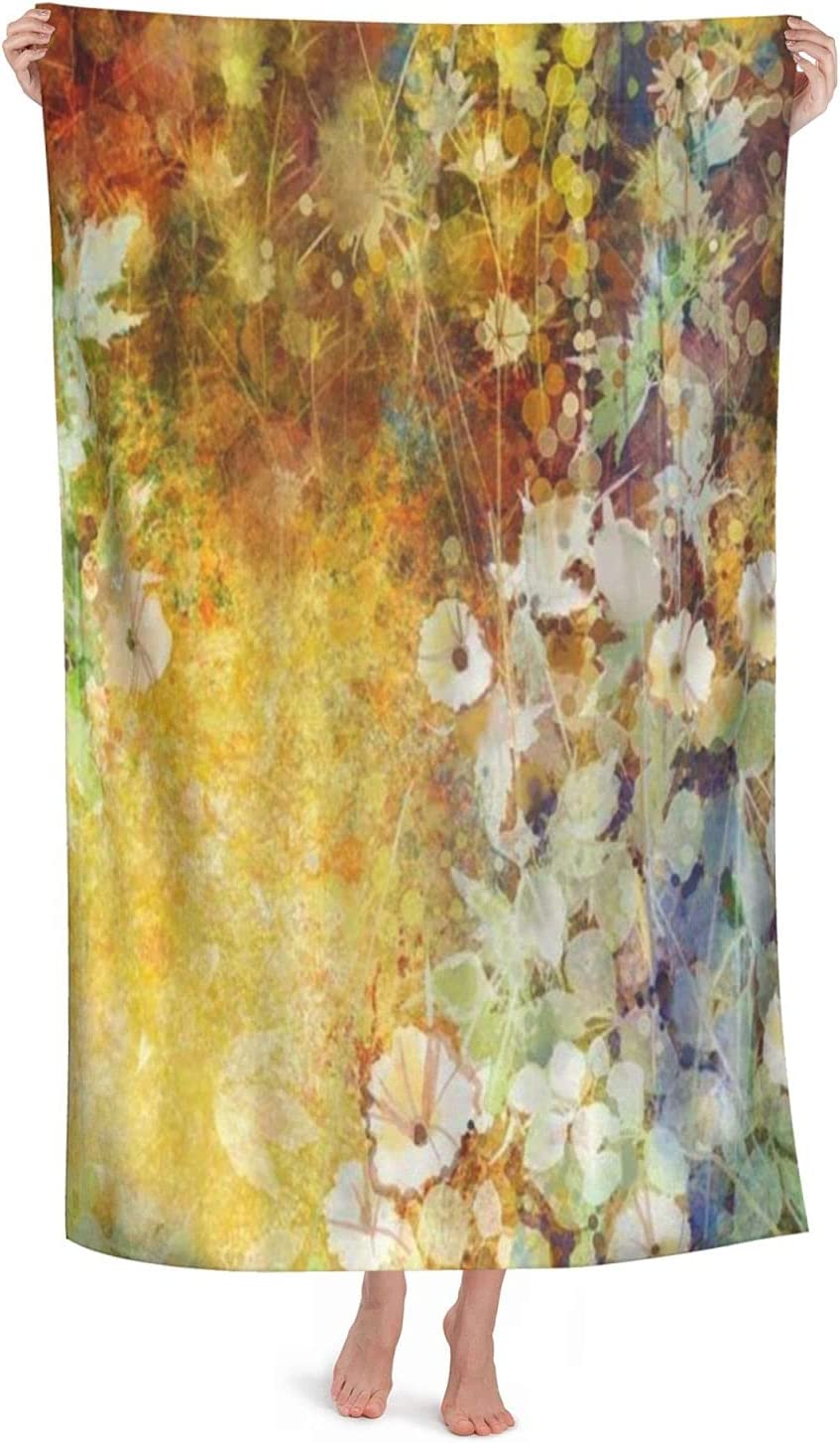 Superfine Fiber Large Light Bathroom Portland Mall Sheet Absorbent Sales of SALE items from new works Watercolor