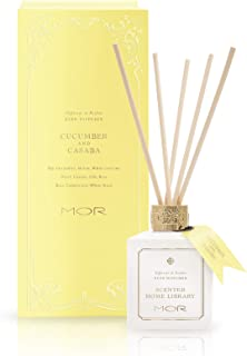 MOR Boutique Scented Home Library Cucumber & Casaba Fragrant Reed Diffuser, 180ml