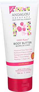 Body Butter - 1000 Roses - 8 oz by Andalou Naturals