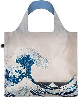 LOQI Reusable Shopper Bag, 50 cm, The Great Wave