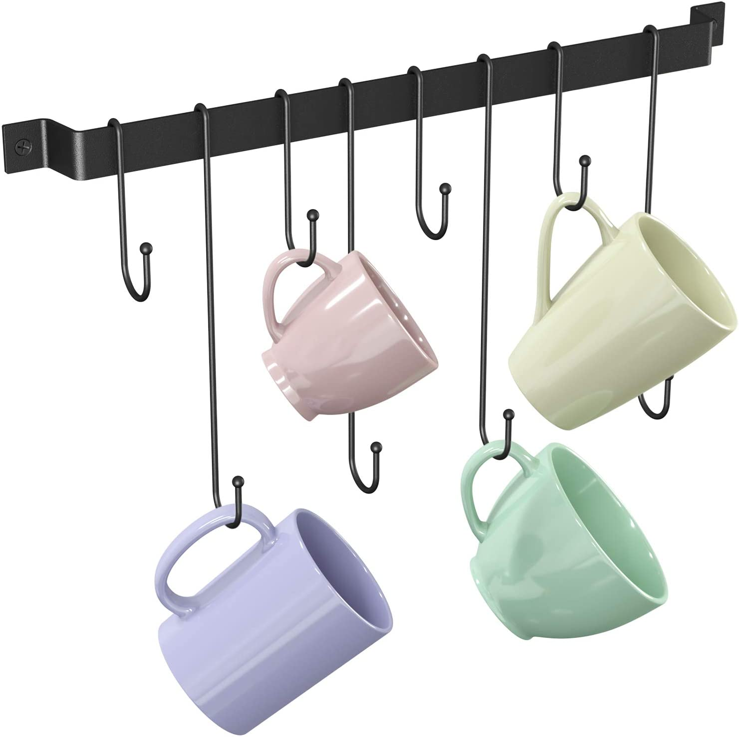 Tibres - Coffee Mug Popular brand in the world Holder Wall Rack with M Mounted Ultra-Cheap Deals Cup