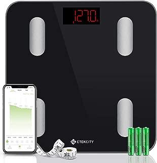 Etekcity Digital Weight Scale, Smart Bluetooth Body Fat Scale,  Bathroom Scale Tracks 13..