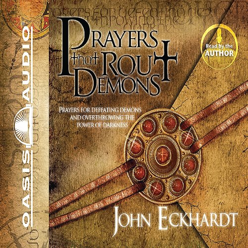 Prayers That Rout Demons                   By:                                                                                                                                 John Eckhardt                               Narrated by:                                                                                                                                 John Eckhardt,                                                                                        Tim Lundeen                      Length: 3 hrs and 2 mins     636 ratings     Overall 4.8