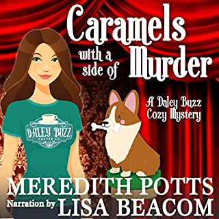 Caramels with a Side of Murder audiobook cover art