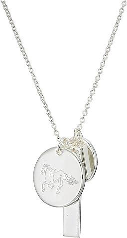 """24"""" Horse Charm Pendant Necklace"""