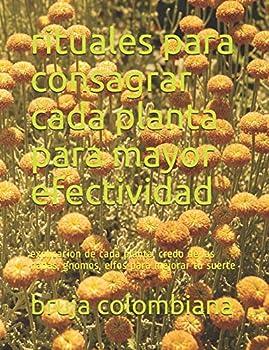 rituales para consagrar cada planta para mayor efectividad  explicacion de cada planta credo de las hadas gnomos elfos para mejorar tu suerte  Spanish Edition