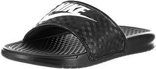 Nike Womens Benassi JDI Black/White Sandal 8 Women US