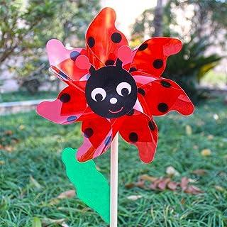 Regalo di Compleanno del Mulino a Vento Decorazione del Giardino per la Festa della Mamma Pagliaccio Girandola Mulini a Vento da Giardino Pagliaccio