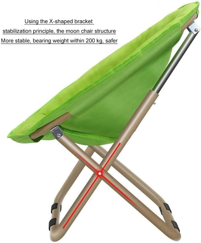 Chaise Longues Portable Pliable Lune Chaise pêche Camping barbecue Tabouret pliant prolongé Randonnée Siège Jardin Ultraléger Meubles de bureau (Color : F) F