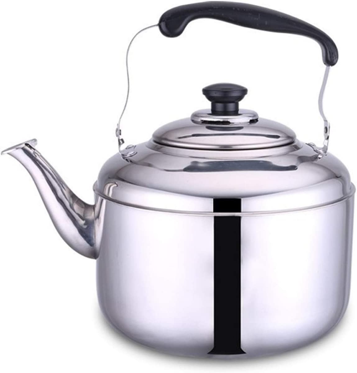 discount Food Grade Stainless Steel Whistle Heat-r with Ergonomic Beauty products Teapot