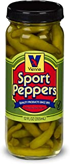 VIENNA SPORT PEPPERS, 12 OZ, FOR CHICAGO DOGS