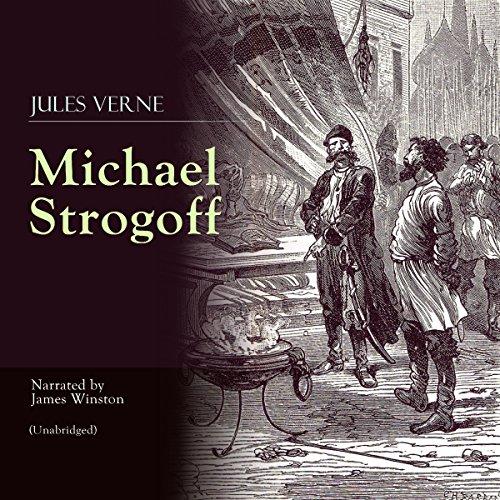 Michael Strogoff audiobook cover art