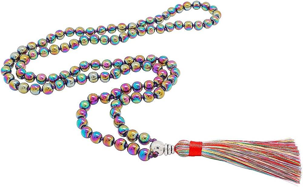 Mala Max 79% OFF Beads 108 Boho Japan Maker New Necklaces Women Prayer for Meditation