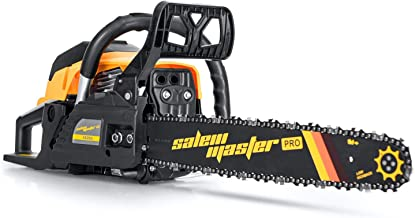 SALEM MASTER 5820G 58CC 2-Cycle Gas Powered Chainsaw, 18-Inch Chainsaw, Handheld Cordless..