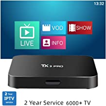 $139 » Arabic IPTV TV Box 2019 Android Smart TV Box USA Channels WiFi Remote Control 6000+ Worldwide HD Channels with 2 Years Service