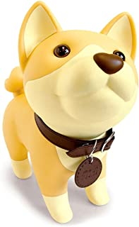 DomeStar Cute Dog Bank, Shiba Inu Coin Bank Kids Toy Bank Doggy Puppy Piggy Bank for Girls Boys