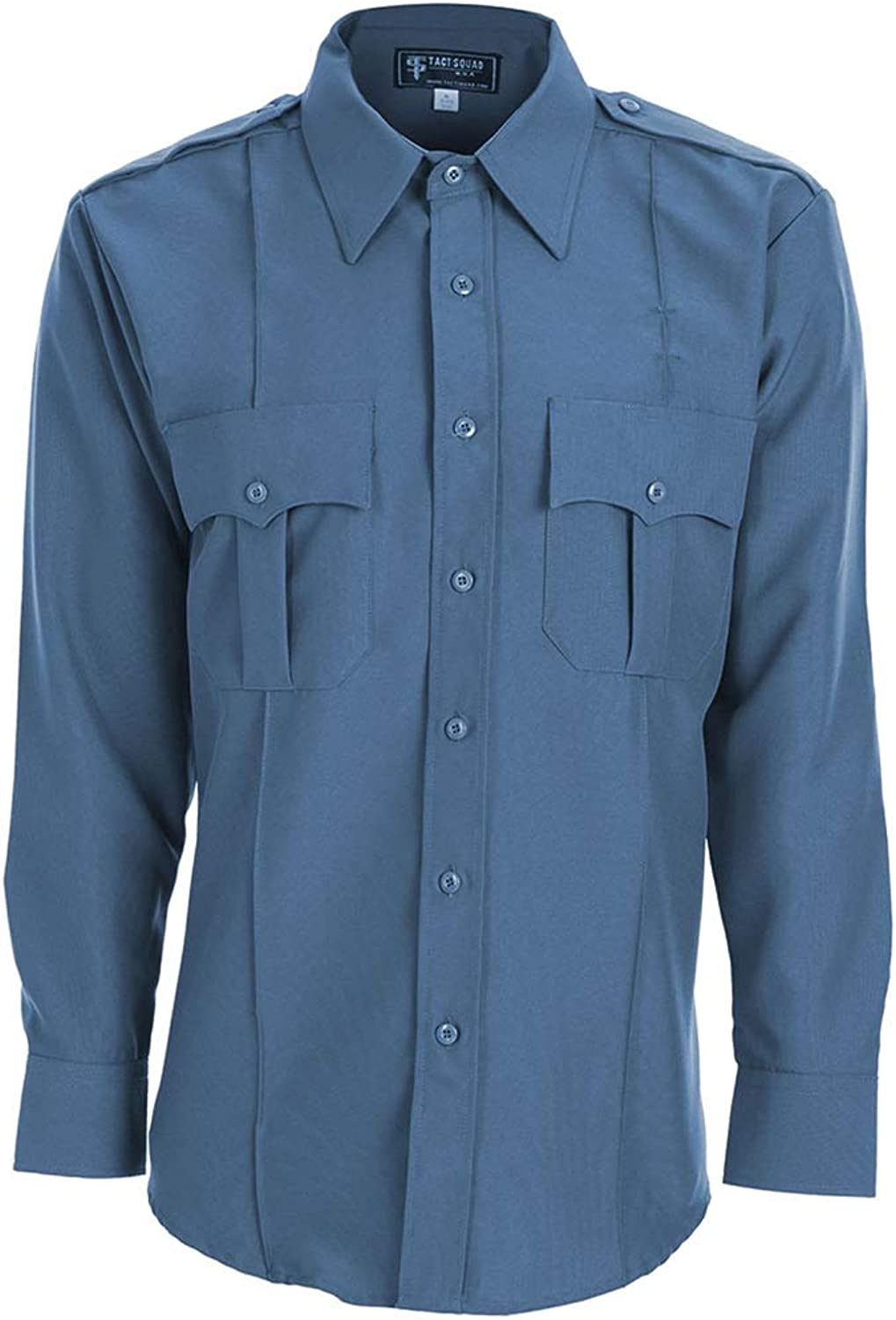 Tact Squad Men's 100% At the price of surprise 5 popular Long Polyester Shirt Sleeve
