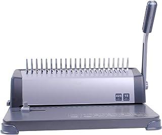 Ryyland Machine à Relier Commandes Financières Binding Machine 21 Trous Peigne De Bureau Bureau Fournitures Fournitures De...