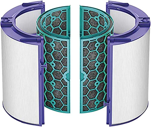 SHSH Accessories ErSätzen Bürsten Kit-Teile Zubeh Für Dyson TP04   HP04   DP04   TP05   HP05 Versiegeltes zWeißufiges 360 ° Filtersystem Aktivkohlefilter