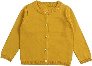 Wennikids Baby Girls' Little Knit Cardigan Button Sweater for 12M-6T
