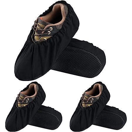 Couvre-chaussures réutilisables 5 paires Couvre-chaussures antidérapants