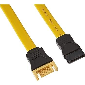 Delock Sata 6 Gb S Extension Cable 50 Cm Yellow Computers Accessories