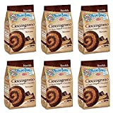 6x Mulino Bianco Cioccograno Galletas Integrales Con Chocolate 350g