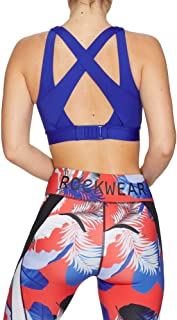 Rockwear Activewear Women's Olympia Hi Bonded Cross Back Bra From size 4-18 High Impact Bras For