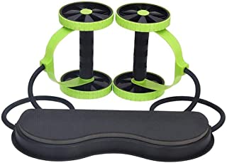 Professionell AB Wheel Roller stöder Double AB Roller träningsutrustning Abdominal träningsmaskin, idealiska män Kvinnor H...