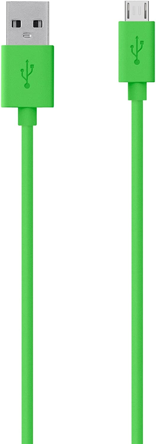Belkin MIXIT? Micro USB Cable for Samsung Phones (Green, 4 Feet)