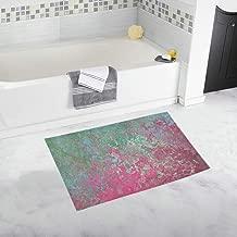 Texture Vintage Old Structure Area Custom Non-slip Bath Mat Rug Bath Doormat Floor Rug For Bathroom 20 X 32 Inch