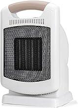 NFJ-LYR Calefactor 1800W,Calefactor Cerámico,3 Segundos Calentamiento Rápido,De Ventilador Termostato Silencioso,Calefactor Portátil Eléctrico