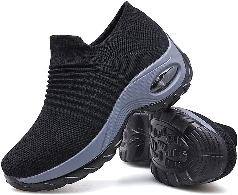 YAN Damen-Turnschuhe Elastic Mesh Low-Top Casual schuhe Leichtbauschuhe Shake Schuhe Schuhe Schuhe Leichtes Schwarz,A,41  136e0b