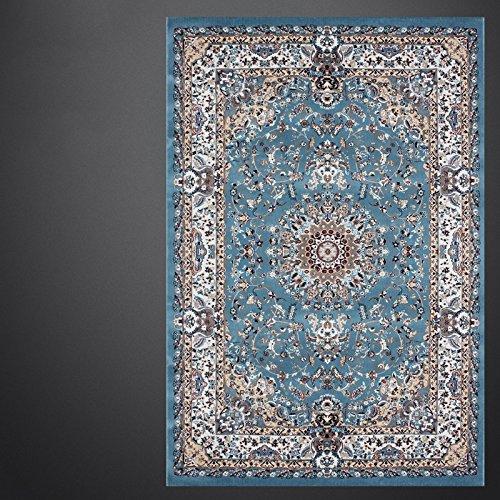 BAGEHUA maßgeschneiderte Kunst türkische Wohnzimmer blau Iranische Teppiche Neue Amerikanische Französisch, 1 Mx1.5M, Mz8815 Bs