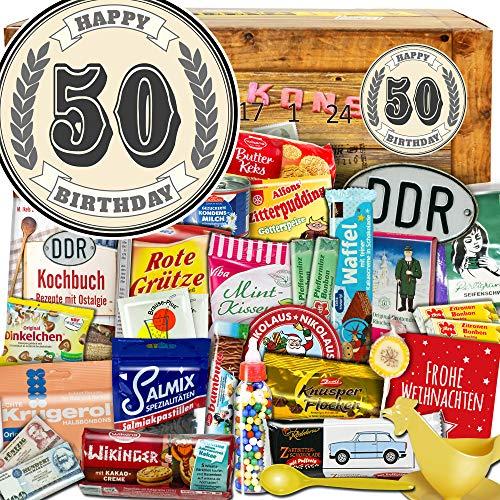 50 Geburtstag - DDR Adventskalender - Adventskalender Idee für Papa