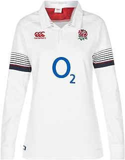 canterbury 英格兰官方17/ 18女式橄榄球长袖家居经典运动衫