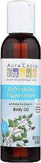 Aura Cacia, Body Oil Peppermint, 4 Fl Oz