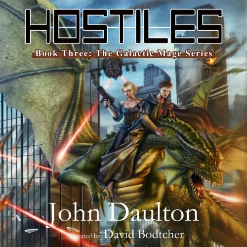 Hostiles audiobook cover art