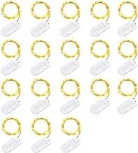 LED-lichtslingers, 2 meter 18-leds mini-lichtslingers, IP65 waterdicht/koperdraad lichtslingers/warm wit, led-lichtslinger...
