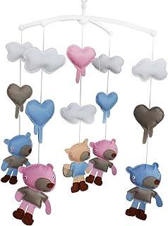 Ours Cloche de lit Cadeaux faits à la main Mobile bébé berceau jouet coloré Jouet à suspendre